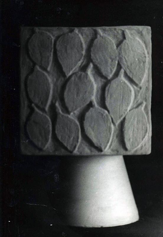 1976. Урна квадратная / Kvadrātveidīga atkritumu tvertne