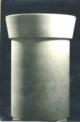 1974. Урна с бортом / Atkritumu tvertne ar malu