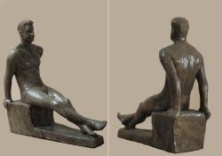 Сидящий. Керамика / Sēdus. Keramika