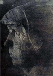 1976. Автопортрет. Глина / Pašportrets. Māls