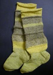 Вязанные носки / Adītas zeķes